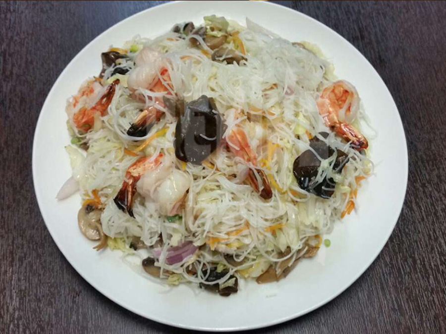 Ριζομακάρονα με γαρίδες