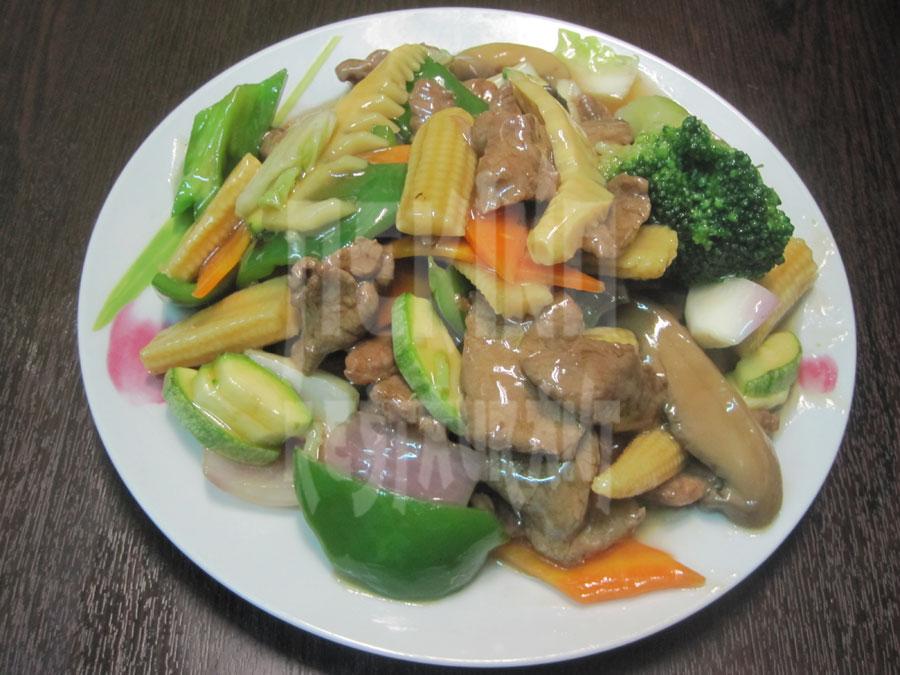 Μοσχάρι με λαχανικά