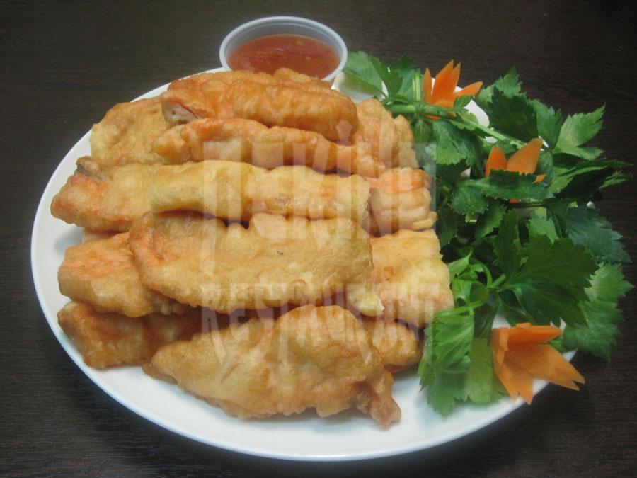 Φιλέτο Βακαλάου Λουάν Τζα (τηγανητό)