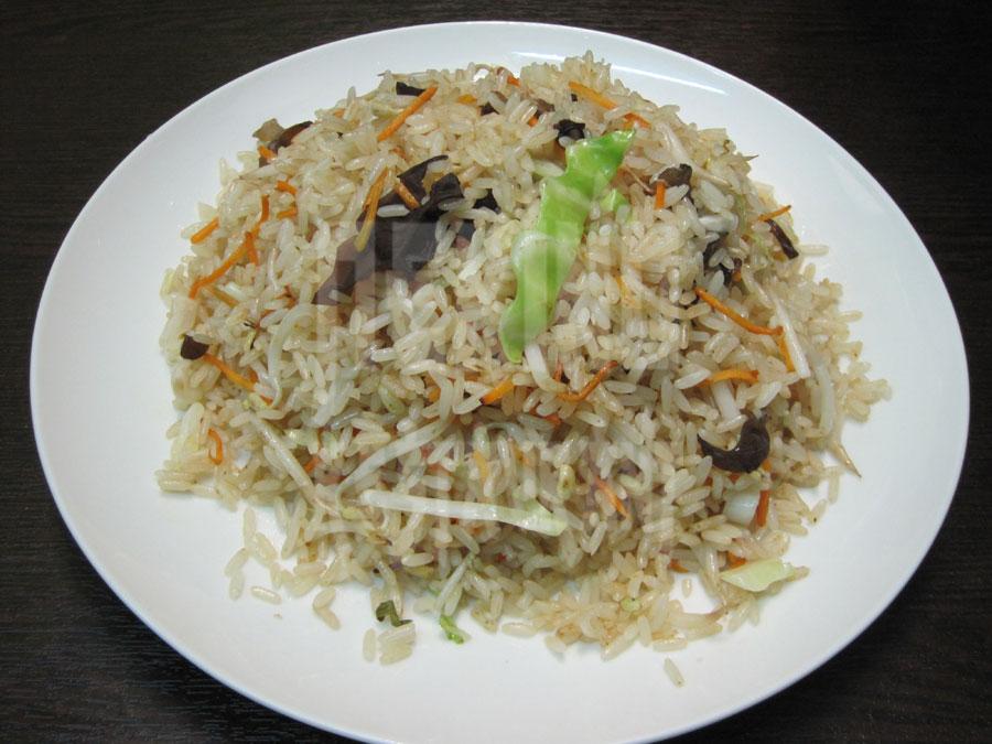 Τηγανητό ρύζι με λαχανικά