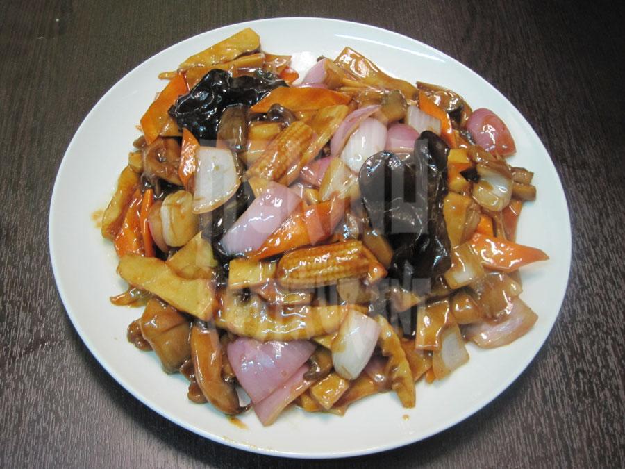 Κινέζικα μανιτάρια με μπαμπού
